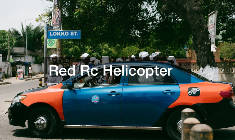 Red Rc Helicopter