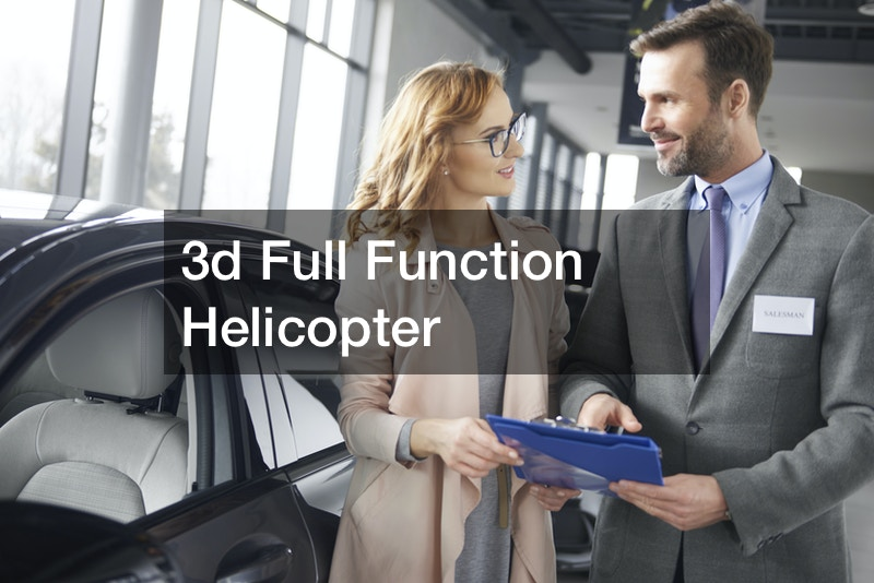 3d Full Function Helicopter